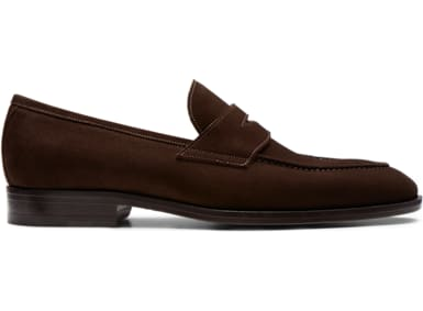 4a9337c1465f Dark Brown Penny Loafer ...