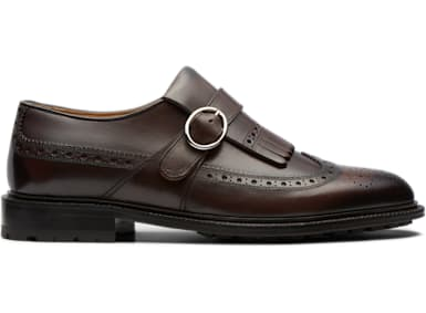 Dark Brown Monk Strap