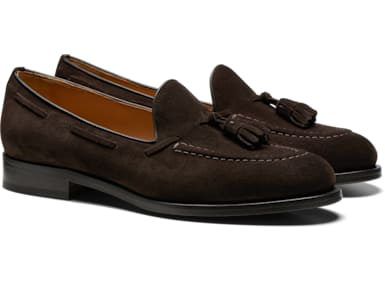 Dark Brown Tassel Loafer