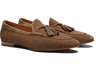 Light Brown Tassel Loafer