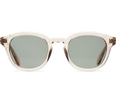 Transparent Round Sunglasses