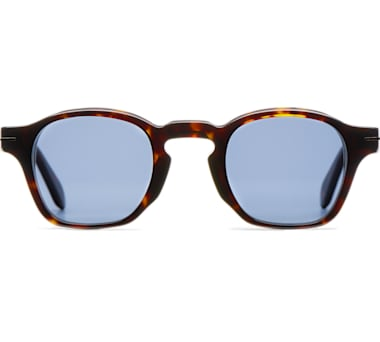 Light Brown Square Sunglasses