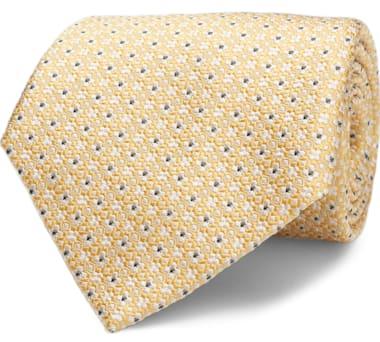 Yellow Flower Tie