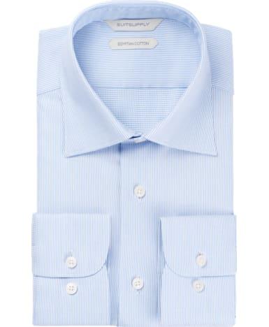 Light Blue Faux Uni Shirt