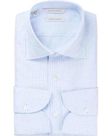 Light Blue Check Shirt