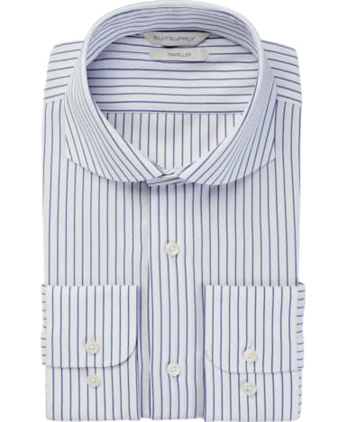 Navy Stripe Traveller Shirt