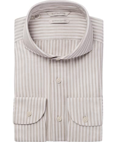 Light Brown Stripe Shirt
