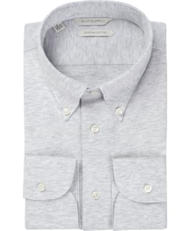 Grey Plain Shirt