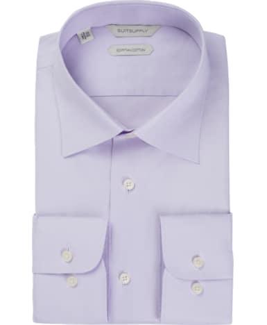 Lilac Plain Shirt