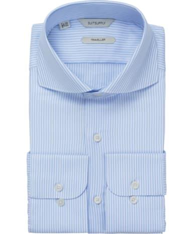 Blue Stripe Traveller Shirt