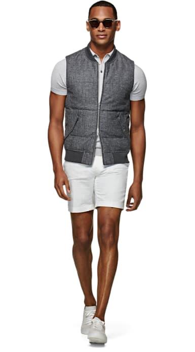 Grey Padded Vest