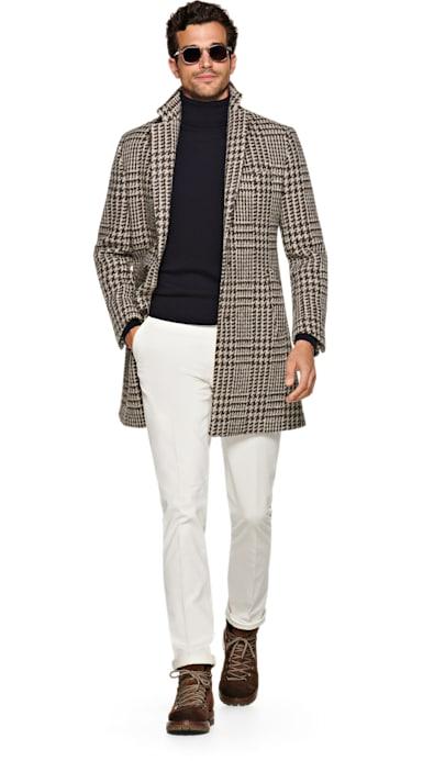 Brown Coat Jort