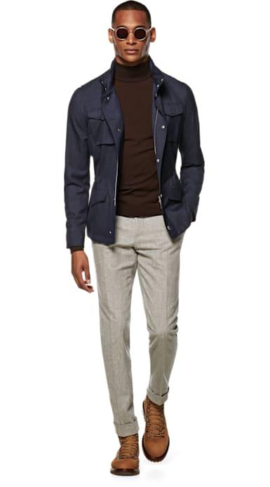 Blue Field Jacket