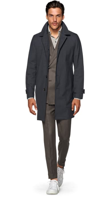 Grey Raincoat