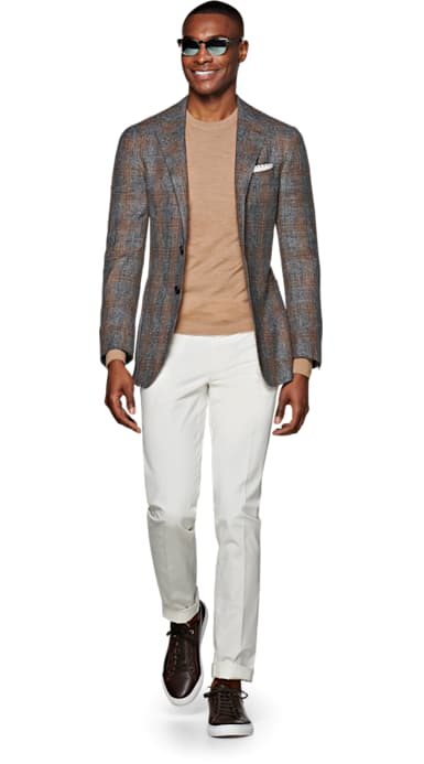 Havana Grey Check Jacket
