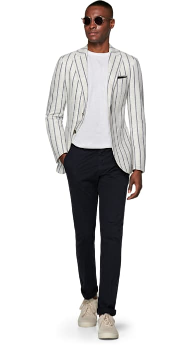 Havana Off White Stripe Jacket