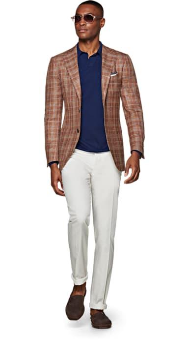 Jort Brown Check Jacket