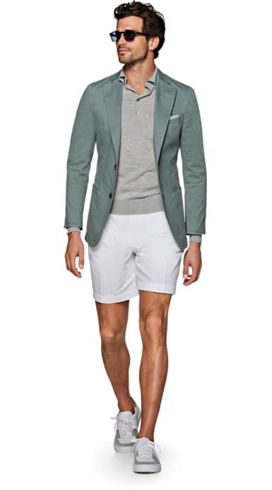 Havana Mint Green Jacket