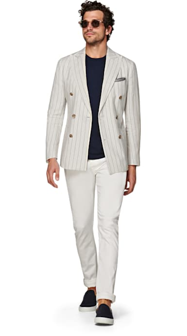 Havana Off White Stripe Jacket
