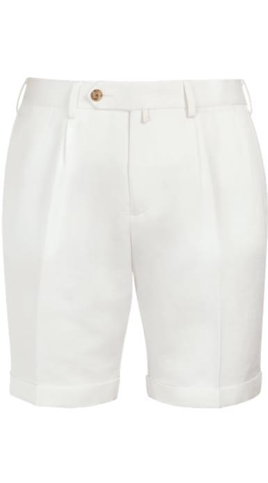 Off White Bennington Pleat Shorts