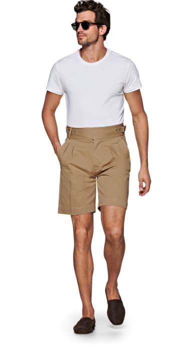 Beige Jort Mumbai Shorts