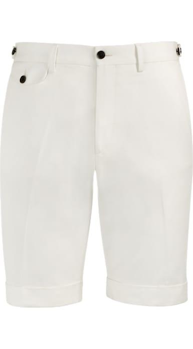Jort Off White Shorts