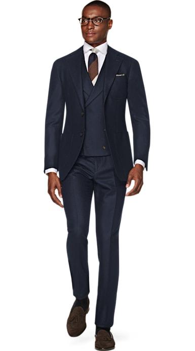 Havana Navy Suit