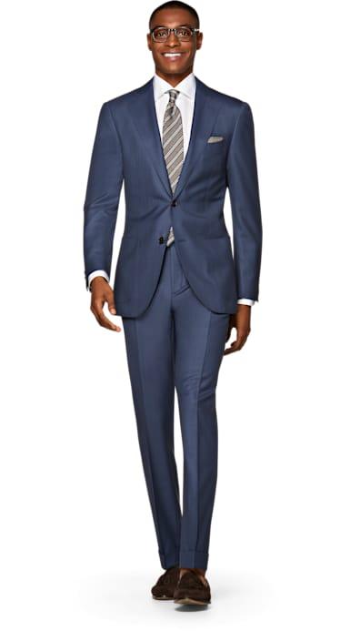 Jort Mid Blue Suit