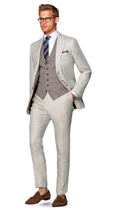 Napoli Off White Suit