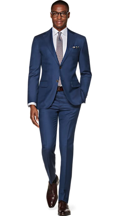Napoli Mid Blue Suit
