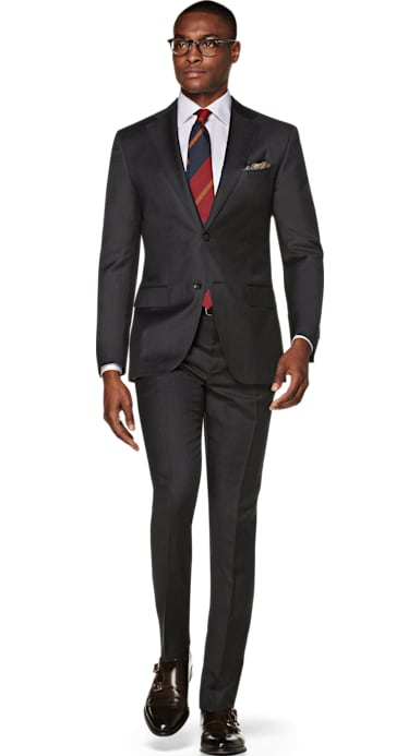 Napoli Dark Grey Suit