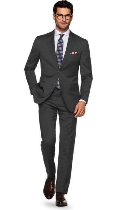 Napoli Grey Stripe Suit