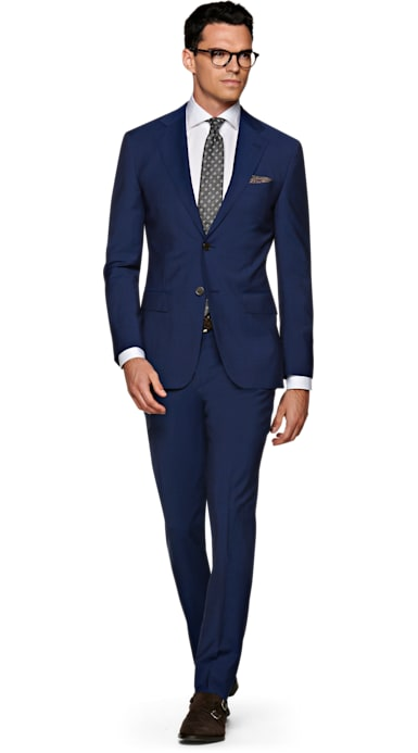 Napoli Mid Blue Suit