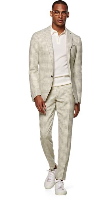 Havana Grey Houndstooth Suit