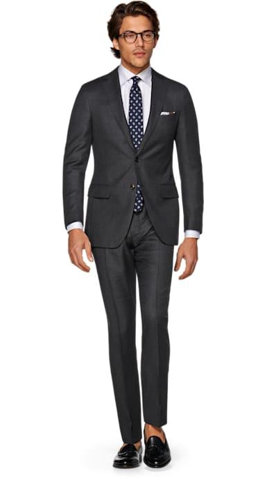 Sienna Grey Bird's Eye Suit