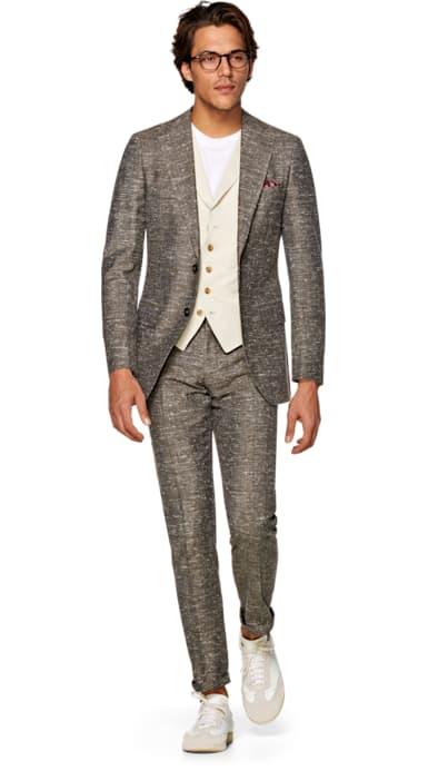 Lazio Mid Brown Suit