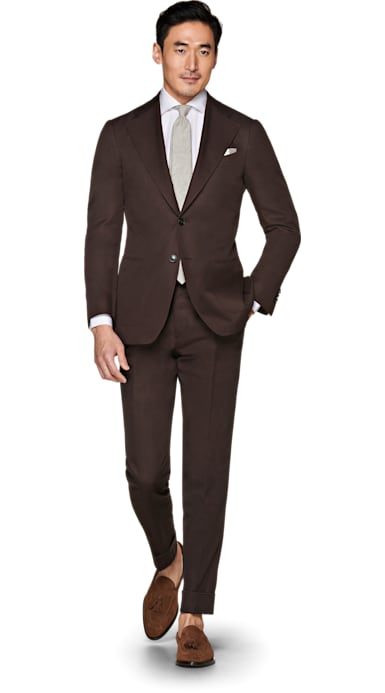 Havana Brown Suit