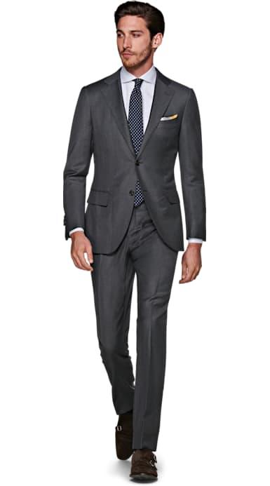 La Spalla Dark Grey Suit