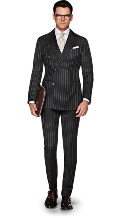 Havana Dark Grey Suit