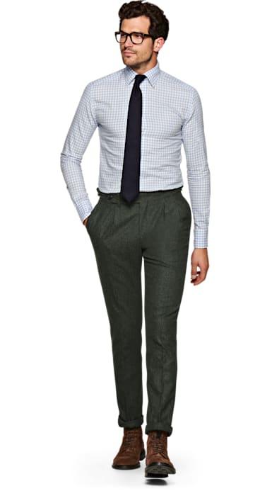 Green Braddon Trousers