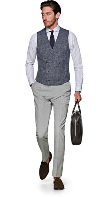 Light Grey Braddon Trousers