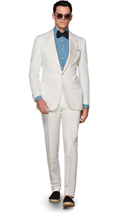 Off White Brescia Tux Tuxedo Trousers