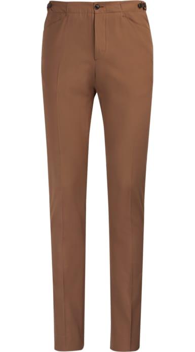 Brown Jort Casual Trousers