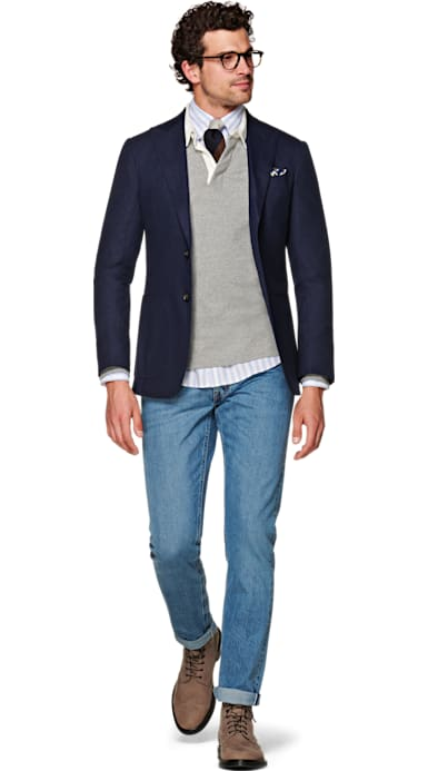 Light Blue Selvedge Jeans