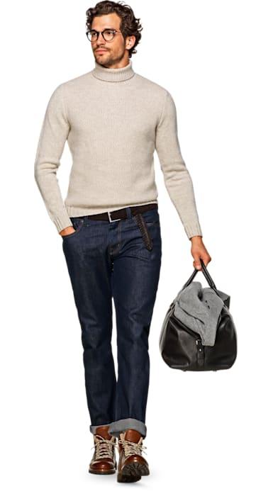 Dark Blue Selvedge Jeans