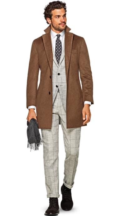 Brown Overcoat