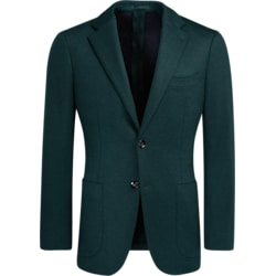 Jacket_Green_Plain_Havana_C5581I