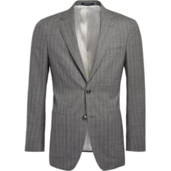 Havana Grey Stripe Jacket