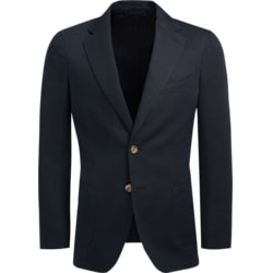 Jacket_Navy_Plain_Havana_C1231I