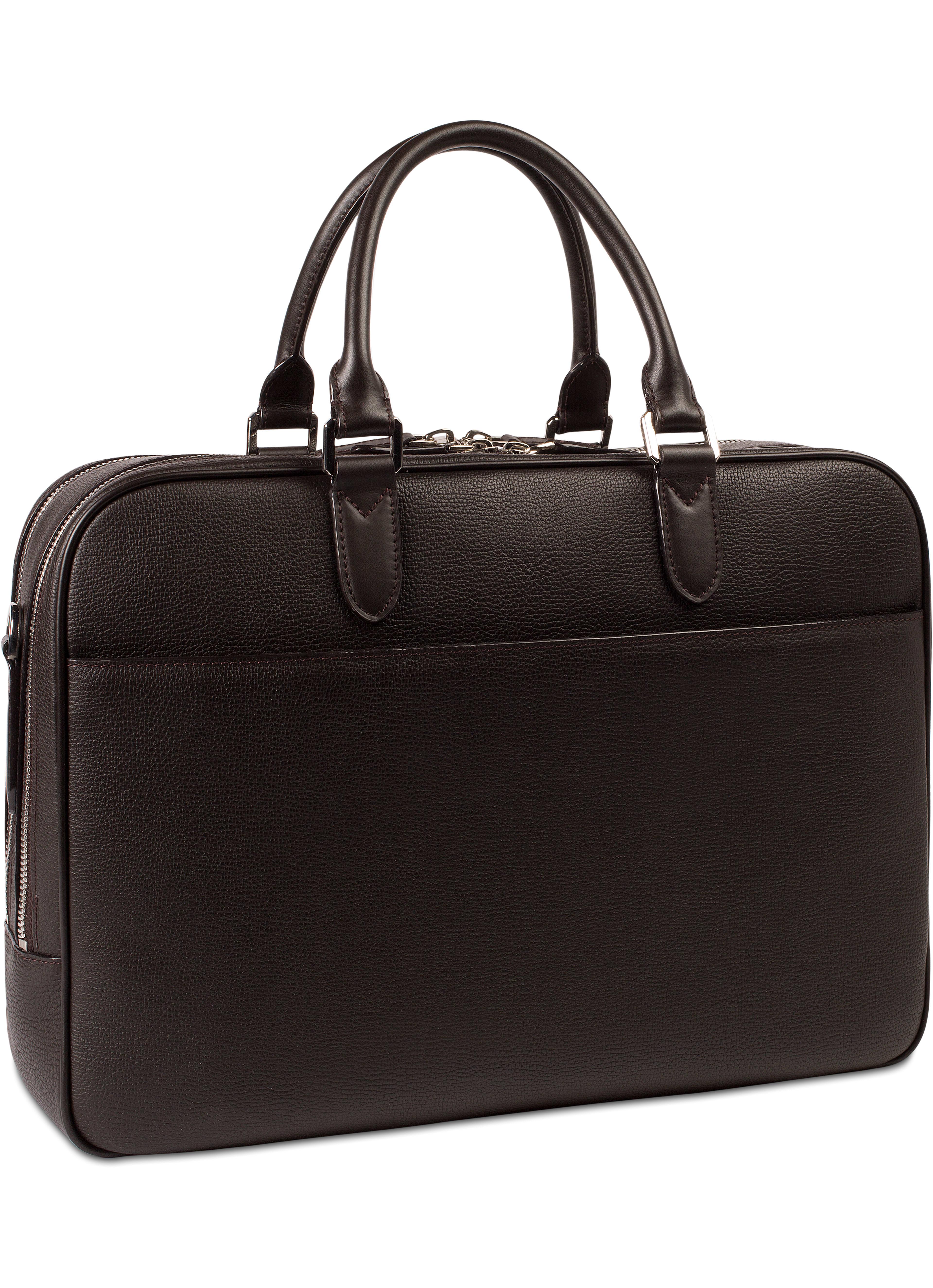Dark Brown Briefcase Bag18103 Suitsupply Online Store